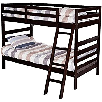 Merax Twin Over Twin Metal Bunk Bed