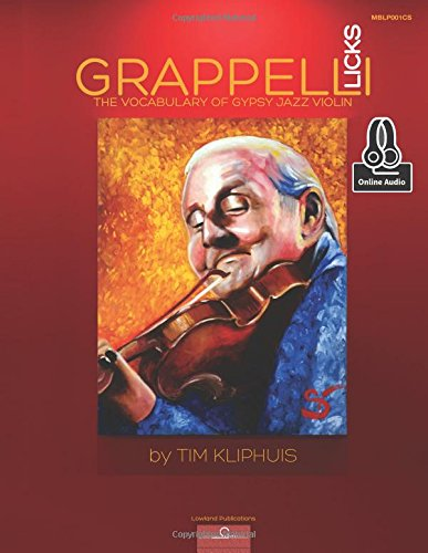 Grappelli Licks: The Vocabulary of Gypsy - Jazz Violin Music
