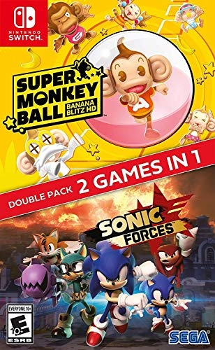 Sonic Forces + Super Monkey Ball: Banana Blitz HD Double Pack - Nintendo Switch
