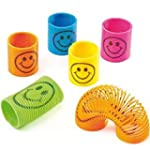 48 x Mini Smiley Springs - Party Bag...