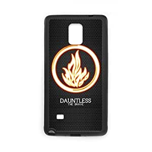 Onshop Custom DIVERGENT DAUNTLESS Fire Pattern Logo Phone Case Laser Technology for Samsung Galaxy Note 4