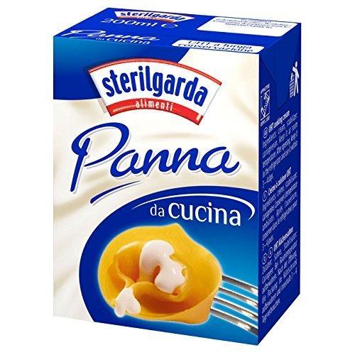 Sterilgarda - Panna Da Cucina (Cooking Cream), (4)- 6.8 oz. Pkgs. by Sterilgarda