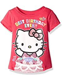 Girls' Happy Birthday T-Shirt