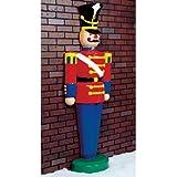 6.3 ft. - Toy Soldier - Life Size - Fiberglass - Christmas Decoration