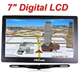 "4UCam 7"" LCD Touch Screen GPS + Wireless Backup license Camera w/Bluetooth System"