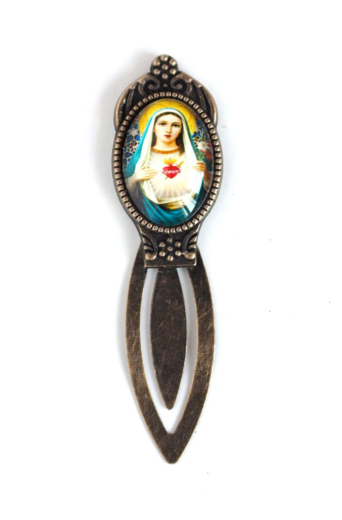 Cabochon The Virgin Mary, Bookmark for book