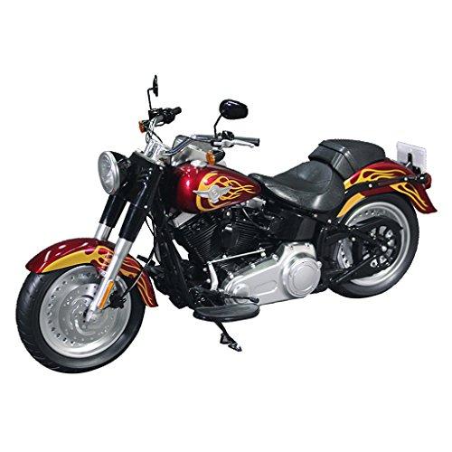 12' Girls Bike - MonkeyJack 1/6 Scale Motorcycle Motorbike Model for 12'' Arnold/ Undead Biker/ Biker Girl Action Figure Flame