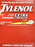 Tylenol(R) Extra-Strength, 2-Caplet Dosage, 100 caplets per box (Pack of 2)500mg each