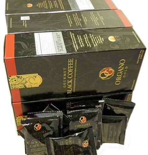 6 Boxes of Organo Gold Ganoderma – Black Coffee (30 sachets per box) by Organo