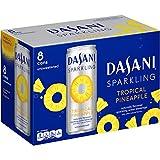 DASANI Sparkling, Tropical Pineapple, 12 fl oz, 8 Pack