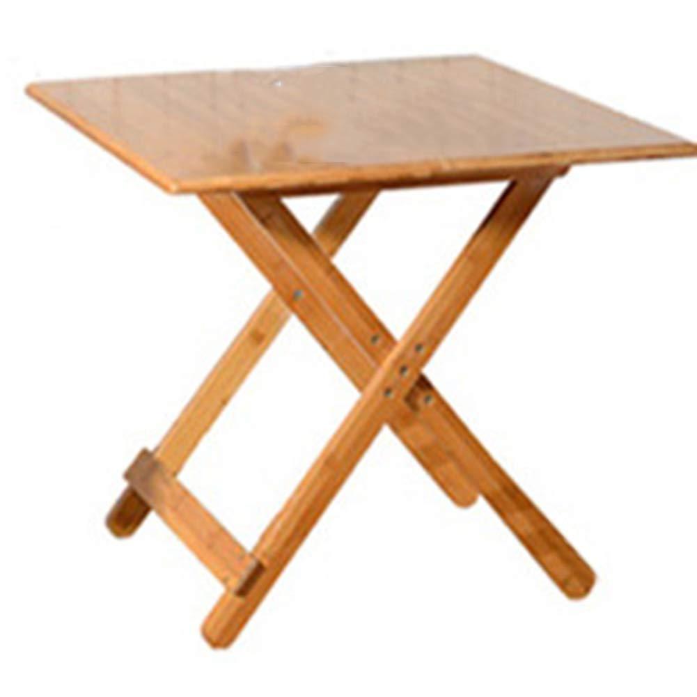 Tavolo Pieghevole Tavolo Pieghevole Tavolo Quadrato Tavolo rossoondo Tavolo Portatile colore Primario 60m  60cm  50cm Haiming (colore   Piazza, Dimensioni   80cm80cm75cm)