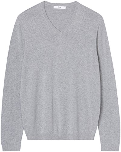 light Pull Grey Col En Tricot V Homme Gris Marl Find 0Hq7pgxw7