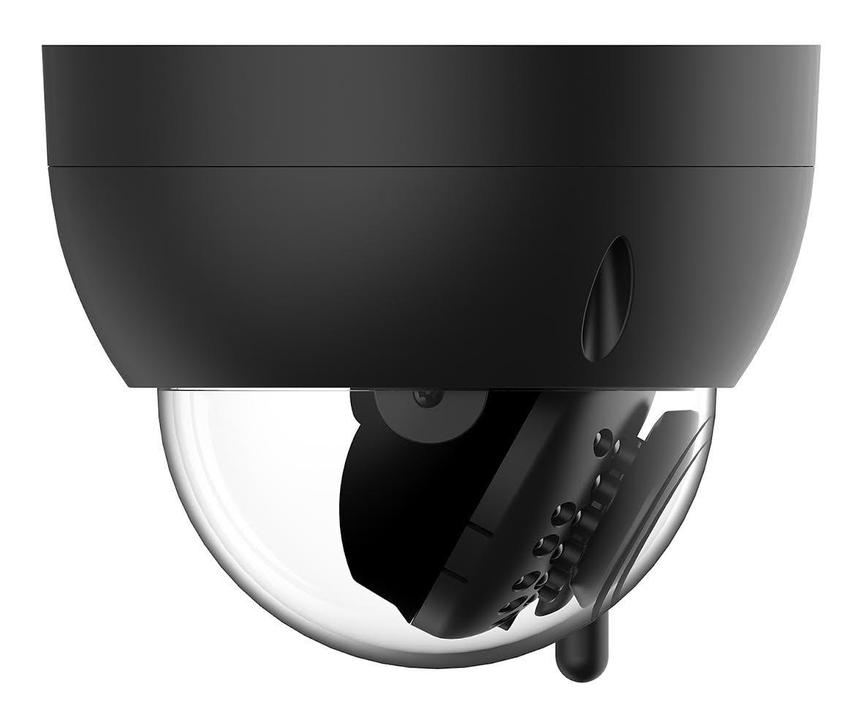 Black IK10 Vandal-Proof IPM-751B 1280x960 TVL Amcrest ProHD Fixed Outdoor 1.3 Megapixel Wi-Fi Vandal Dome IP Security Camera 4332027157 IP67 Weatherproof 1.3MP