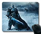 World of Warcraft Wrath of the Lich King Game Rectangle Mouse Pad by eeMuse