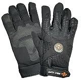 Impacto BG40830 Anti-Vibration Mechanic's Air Glove, Black