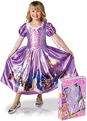 Generique - Disfraz Rapunzel niña Super niña 3 a 4 años (90 a 104 ...
