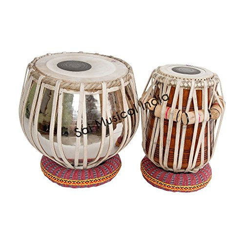 Queen Brass Tabla Set, Professional, 5.25'' Dayan by Queen Brass