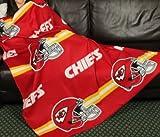 Kansas City Chiefs NFL Fleece Throw Blanket by Northwest