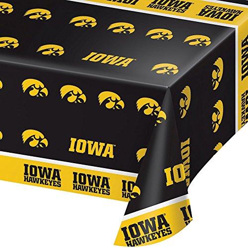 2-ct University of Iowa Hawkeyes Premium Plastic Table