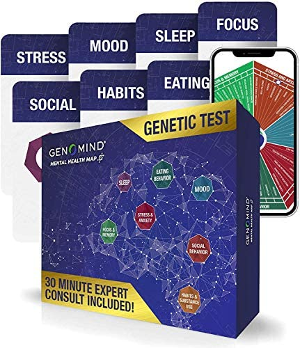 Genomind Mental Health Map: Genetic DNA Test...