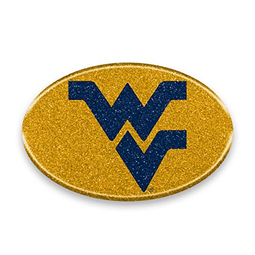 NCAA West Virginia Mountaineers Color Bling Emblem, 4