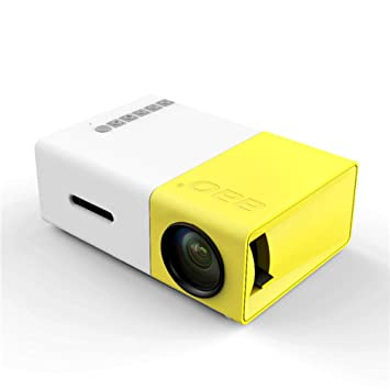 Mini LED Projector HD 1080P Home Theater USB LCD Projector Cinema Equipment External Power Supply