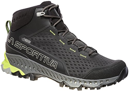 Chaussures De Course De Trail La Mutagena La Sportiva Mutant - Ss18 Stream Gtx Carbone / Apple Green Talla: 43.5