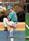 Matt Turner autographed baseball card (Florida Marlins) 1993 Topps Stadium Club #27 - Baseball Slabbed Autographed Cards