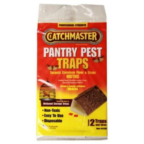 Catchmaster Moth and Pantry Pest Trap: Two Packs of (Moth Traps Pack)