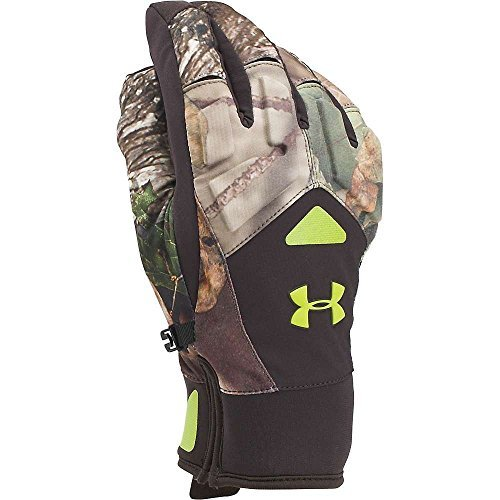 Under Armour Men`s ColdGear Infrared Scent Control 2.0 Primer Gloves (Ridge Reaper Forest (1259225-943) / Velocity, - Under Gloves Hunting Armour
