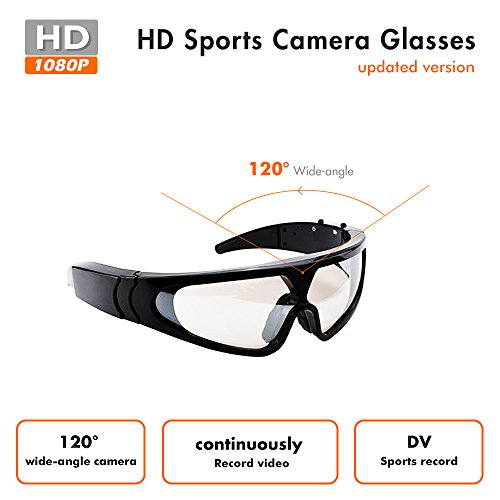 Outdoor Sports Sunglasses - Light Weight Snowboard Goggles For Paraglider - Sports Camera - Full HD 1080P - Face Mask Windproof Ski - Service Secret Sunglasses By Used