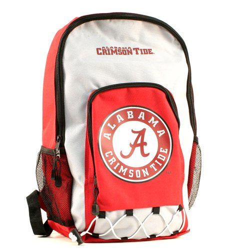 Alabama Crimson Tide Laptop Backpack - Alabama Crimson Tide Echo Bungee Style Backpack
