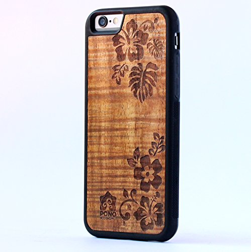 wood back iphone 6 - 6
