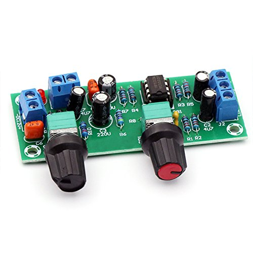 1 Piece 2.1 3-channel subwoofer single power supply 10-24V finished low-pass filter board non-power amplifier ()