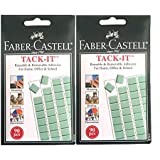 Faber-Castell Tack-It - 180 Pieces (Light Green)