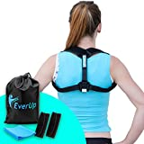 EverUp Posture Corrector for Women & Men Back Clavicle Brace with Resistance Bands & Arm Pads | Breathable & Elastic Fabric, Adjustable Straps for Comfy Fit | Minimize Slouching & Rounded Shoulder