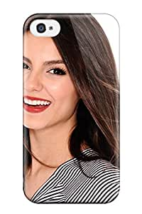 New Design Shatterproof GrWKnoZ525ddhUd Case For Iphone 4/4s (victoria Justice)