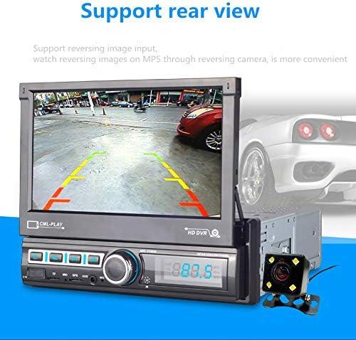 MiCarBa Autoradio st/ér/éo de Voiture avec /écran Tactile 17,8 cm Multicolore Syst/ème Audio vid/éo Bluetooth pour Diffusion de Musique sans Fil et appels Mains Libres