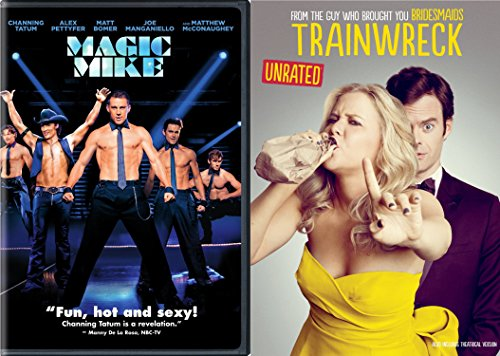 Trainwreck & MAGIC MIKE Double Feature DVD Fun Comedy movie Set Combo Double Edition