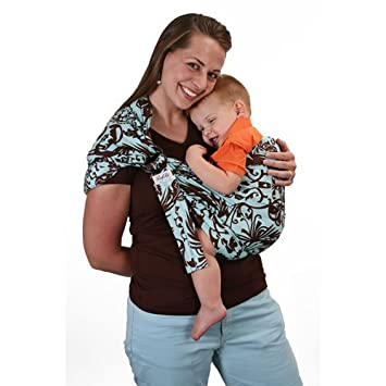 2b112d22ba1 Amazon.com   Slingezee Baby Sling Azure