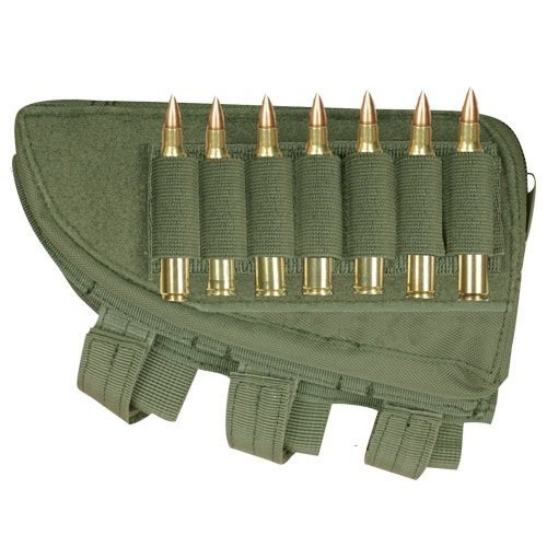 Ultimate Arms Gear OD Olive Drab Green - Left Butt Stock Buttstock Cheek Rest - Rifle by Ultimate Arms Gear