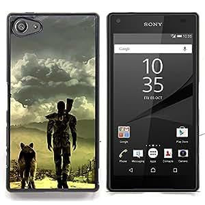 - Apocalyptic Dog - - Cubierta del caso de impacto con el patr??n Art Designs FOR Sony Xperia Z5 compact / mini Queen Pattern