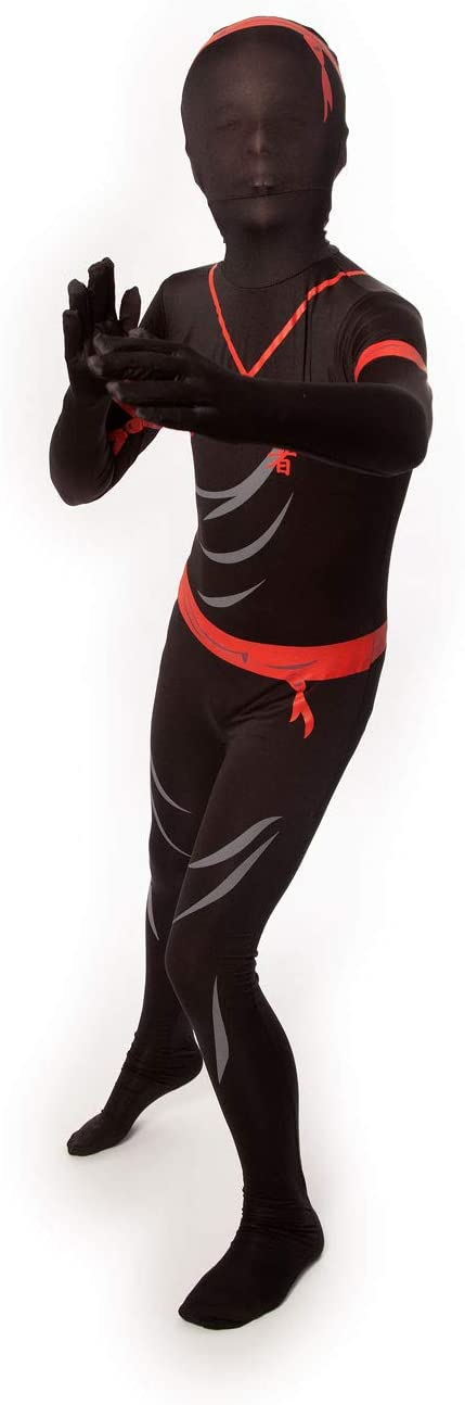 Amazon.com: Morphsuit disfraz de ninja para niños., S ...