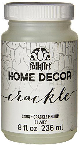 Folkart Home Decor Medium  8 Ounce   34867 Crackle