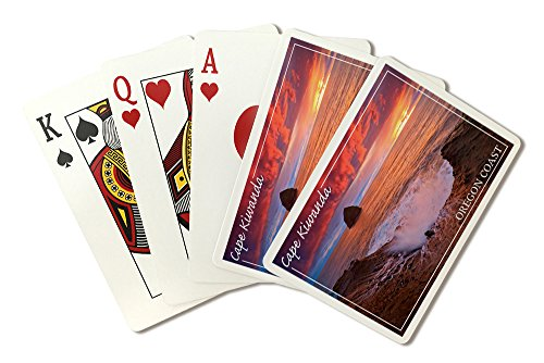 Cape Kiwanda, Oregon Coast (Playing Card Deck - 52 Card Poker Size with Jokers)