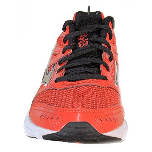 2 impulso zapatos de Mizuno Wave rojo 2015