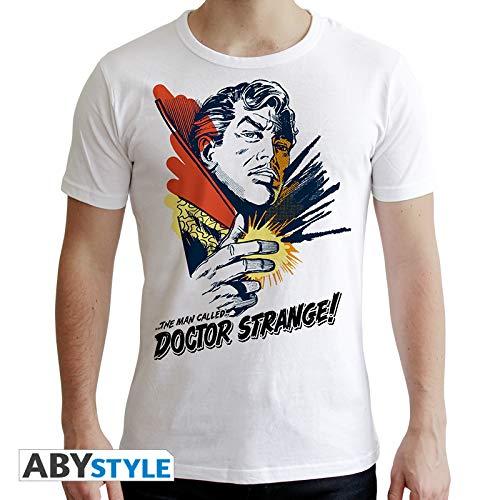 ABYstyle abystyleabytex375 _ L Marvel Dr Strange gráfico camiseta ...