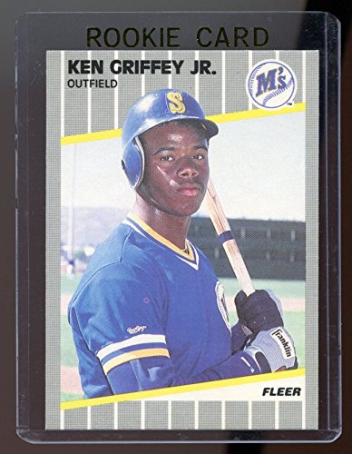 - 1989 Fleer #548 Ken Griffey Jr. Mariners RC Rookie Card - Mint Condition Ships in a Brand New Holder
