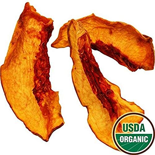 Organic Dried Yellow Peaches, 8oz by Bella Viva Orchards Dried Fruit