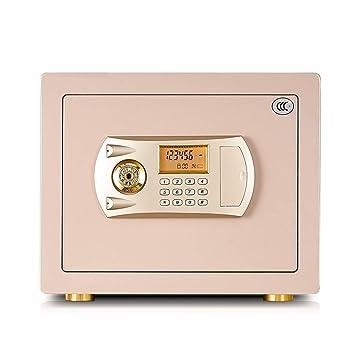 Cajas de caudales Safe Home Micro Password Caja de Oficina de Acero Todo en uno Pared